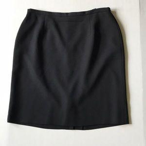 Karen Scott black work pencil skirt Sz 12